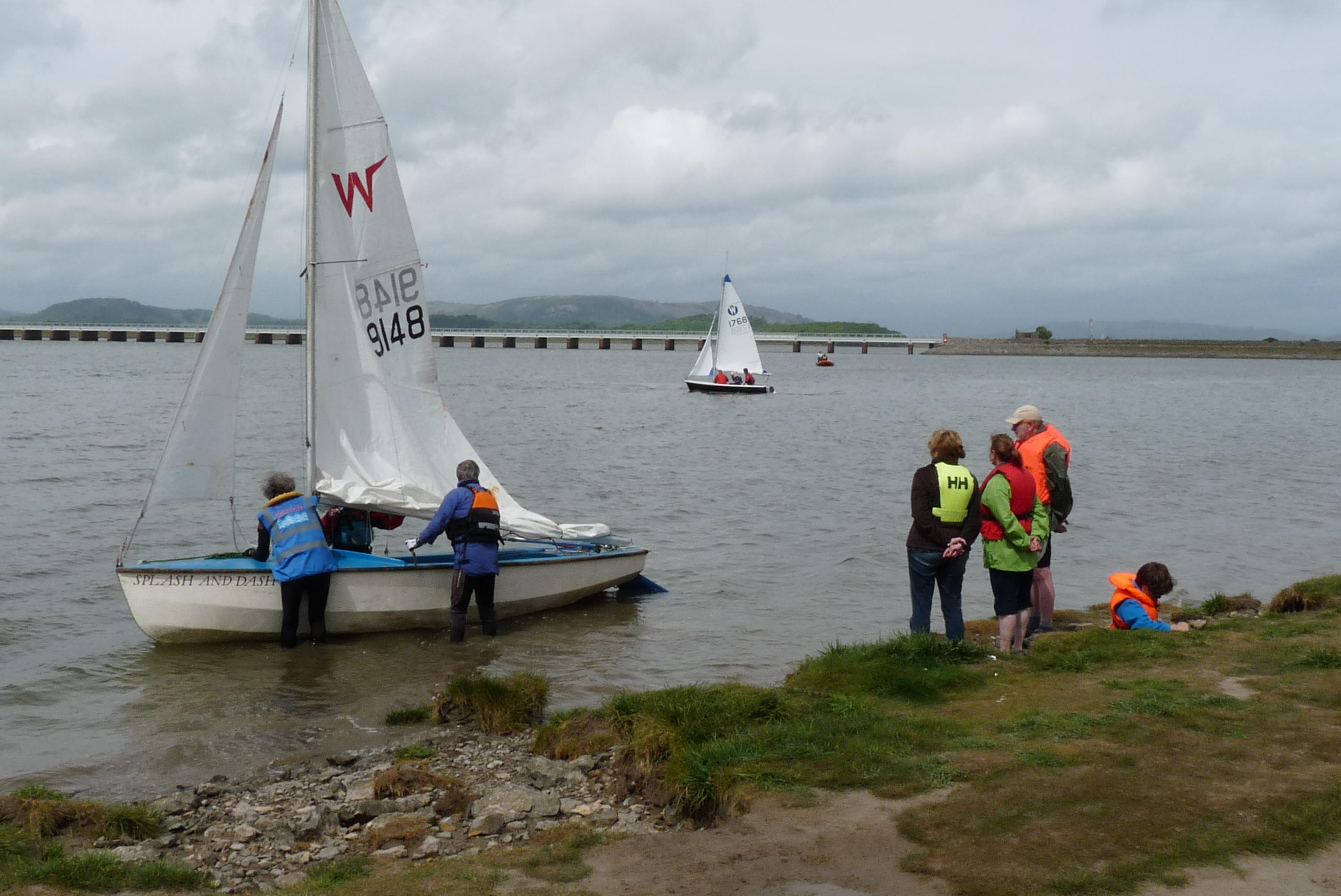 Arnside Sailing Tryout (5)